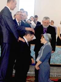 Рукоположение на пресвитерское служение брата Н.Комова