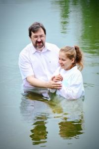 Крещение в Искитиме